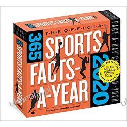 Kalendarz 365 Sports Facts-A-Year Page-A-Day Calendar 2020 Książki i Komiksy
