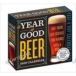 Kalendarz A Year of Good Beer Page-A-Day Calendar 2020 Piwo Książki i Komiksy