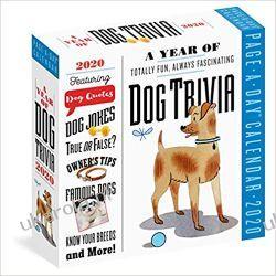 Kalendarz A Year of Dog Trivia Colour Page-A-Day Calendar 2020 Książki i Komiksy