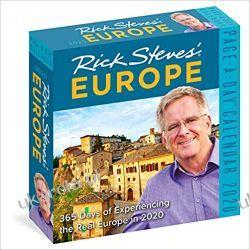Kalendarz Rick Steves' Europe Colour Page-A-Day Calendar 2020 Książki i Komiksy