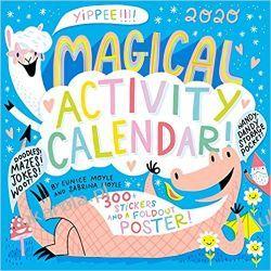 Kalendarz Magical Activity Wall Calendar 2020 Książki i Komiksy