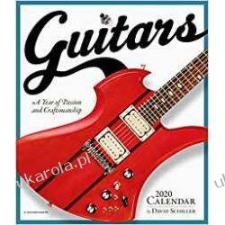 Kalendarz muzyczny Gitary Guitars Wall Calendar 2020 Książki i Komiksy