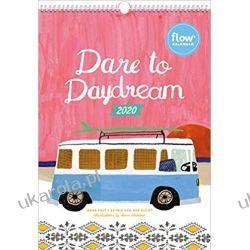 Kalendarz Flow Dare to Daydream Wall Calendar 2020 Książki i Komiksy