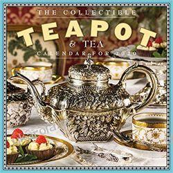 Kalendarz The Collectible Teapot and Tea Wall Calendar 2020 Pozostałe