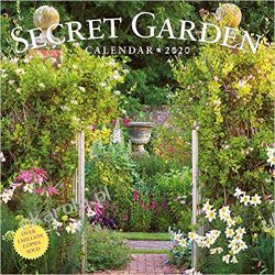 Kalendarz Piękne Ogrody The Secret Garden Wall Calendar 2020 Książki i Komiksy