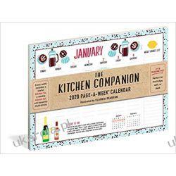 Kalendarz Kuchnia The Kitchen Companion Page-A-Week® Calendar 2020 Książki i Komiksy