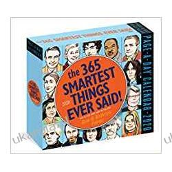 Kalendarz The 365 Smartest Things Ever Said Page-A-Day Calendar 2020 Książki i Komiksy