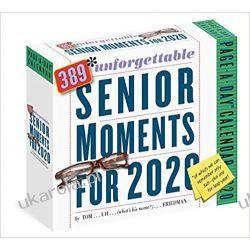 Kalendarz 389 Unforgettable Senior Moments Page-A-Day Calendar 2020 Książki i Komiksy