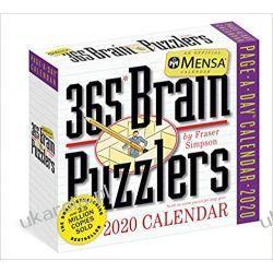 Kalendarz Mensa® 365 Brain Puzzlers 2020 Calendar Książki i Komiksy
