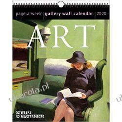 Kalendarz 2020 Art Page-A-Week Gallery Wall Calendar Książki i Komiksy