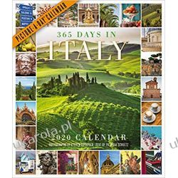 Kalendarz Włochy 365 Days in Italy Picture-A-Day Wall Calendar 2020 Książki i Komiksy
