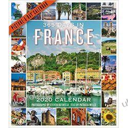 Kalendarz Francja 365 Days in France Picture-A-Day Wall Calendar 2020 Książki i Komiksy