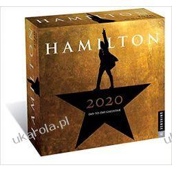 Kalendarz biurkowy Hamilton 2020 Day-to-Day Calendar Książki i Komiksy