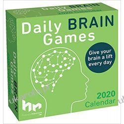 Kalendarz Daily Brain Games 2020 Day-to-Day Calendar Książki i Komiksy