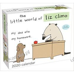 Kalendarz Little World of Liz Climo 2020 Day-to-Day Calendar Książki i Komiksy