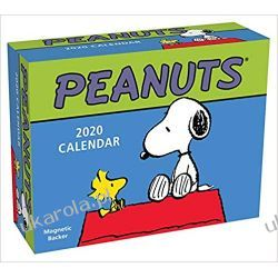 Mini Kalendarz Biurkowy Fistaszki Peanuts 2020 Mini Day-to-Day Calendar Książki i Komiksy