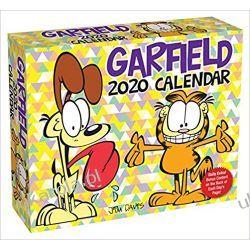 Kalendarz Garfield 2020 Day-to-Day Calendar Książki i Komiksy