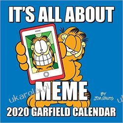 Kalendarz Garfield 2020 Square Wall Calendar Książki i Komiksy