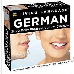 Kalendarz Język Niemiecki Living Language: German 2020 Day-to-Day Calendar Książki i Komiksy