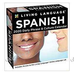 Kalendarz Język Hiszpański Living Language: Spanish 2020 Day-to-Day Calendar Książki i Komiksy