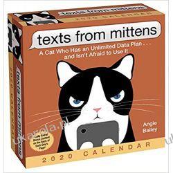 Kalendarz Texts from Mittens the Cat 2020 Day-to-Day Calendar Książki i Komiksy