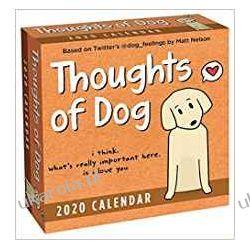 Kalendarz Thoughts of Dog 2020 Day to Day Calendar Książki i Komiksy