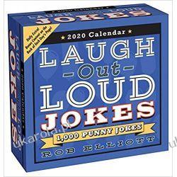 Kalendarz Laugh-Out-Loud Jokes 2020 Day-to-Day Calendar Książki i Komiksy