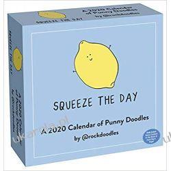 Kalendarz 2020 Day-to-Day Calendar of Punny Doodles Książki i Komiksy
