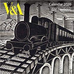 Kalendarz V&A - Eric Ravilious Wall Calendar 2020 Książki i Komiksy