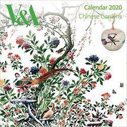 Kalendarz V&A - Chinese Gardens Wall Calendar 2020 Książki i Komiksy