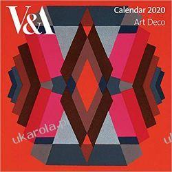 Kalendarz V&A - Art Deco Wall Calendar 2020 Książki i Komiksy