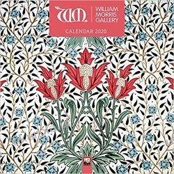 Kalendarz William Morris Gallery Wall Calendar 2020 Książki i Komiksy