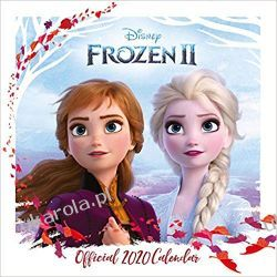 Kalendarz Kraina Lodu II Disney Frozen 2 Square Calendar 2020 Książki i Komiksy