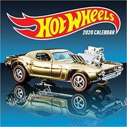 Kalendarz Hot Wheels 2020 Wall Calendar Książki i Komiksy