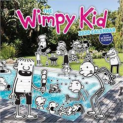 Kalendarz Wimpy Kid 2020 Calendar Książki i Komiksy