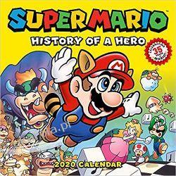 Kalendarz Super Mario Retro 2020 Wall Calendar: History of a Hero Książki i Komiksy
