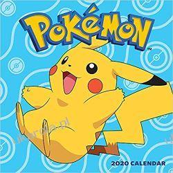 Kalendarz Pokemony Pokémon 2020 Wall Calendar Książki i Komiksy
