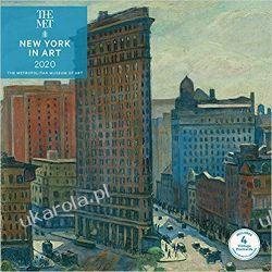 Kalendarz Nowy Jork w sztuce New York in Art 2020 Wall Calendar Kalendarze ścienne