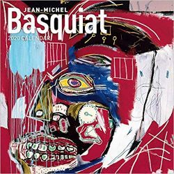 Kalendarz Jean-Michel Basquiat 2020 Wall Calendar Książki i Komiksy