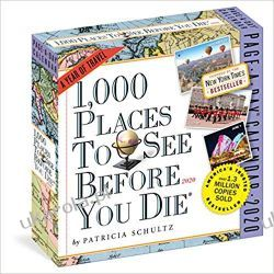 Kalendarz 1,000 Places to See Before You Die Page-A-Day Calendar 2020 Lotnictwo