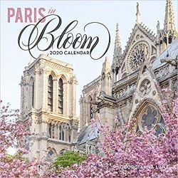 Kalendarz Paryż Paris in Bloom 2020 Wall Calendar Marynarka Wojenna