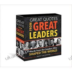 Kalendarz 2020 Great Quotes from Great Leaders Boxed Calendar Pozostałe
