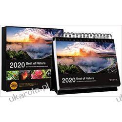 Kalendarz Best of Nature 2020 Desk Calendar Historyczne