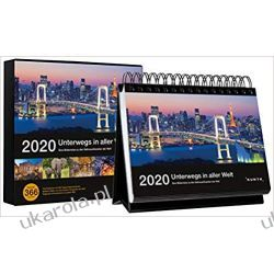 Kalendarz On the way in the world 2020 Desk Calendar Mundury, odznaki i odznaczenia