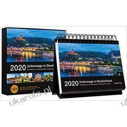 Kalendarz Niemcy On the way in Germany 2020 Desk Calendar Europa z Rosją