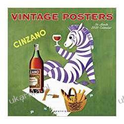 Kalendarz Plakaty Vintage Posters 2020 Square Wall Calendar Kalendarze ścienne