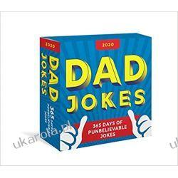 Kalendarz 2020 Dad Jokes Boxed Calendar: 365 Days of Punbelievable Jokes Pozostałe