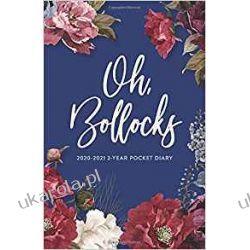 Kalendarz 2020-2021 2-Year Pocket Diary Oh Bollocks Pozostałe