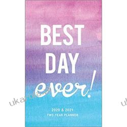 Kalendarz Best Day Ever 2020 Two Year Pocket Planner Kalendarze książkowe