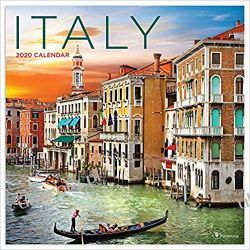 Kalendarz Italy 2020 Calendar Włochy Kalendarze ścienne